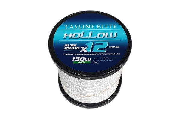 Tasline 130lb Hollow Fishing Braid